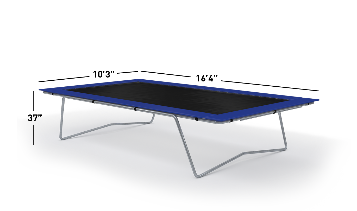 10×17 | Olympic Trampoline Dimensions