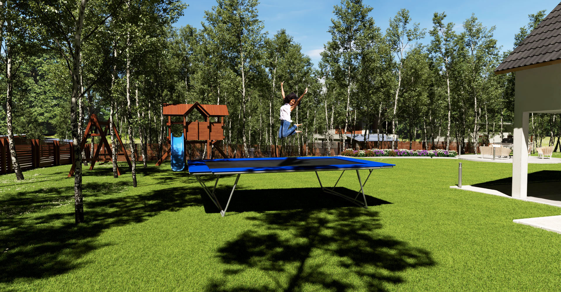 The Perfect Trampoline