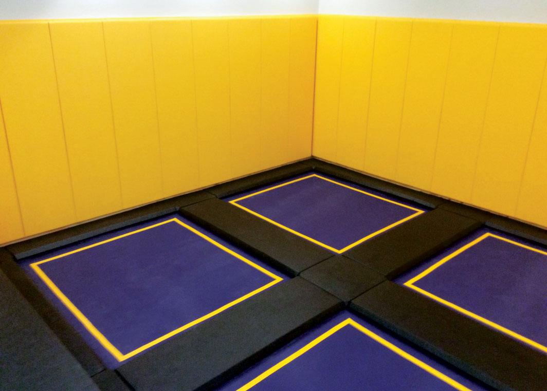 Indoor Trampoline Rooms
